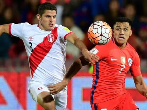 Chile x Peru
