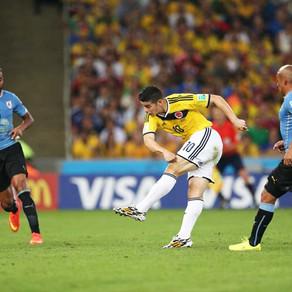 Colômbia x Uruguai