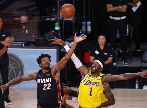 """Final da NBA - Miami Heat e Los Angeles Lakers Decidem Quem Será """"Campeão da Bolha"""""""