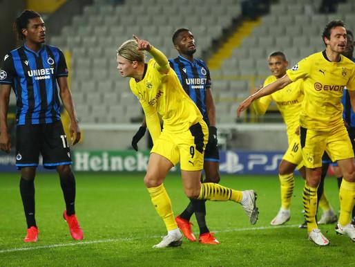 Borussia Dortmund x Club Brugge