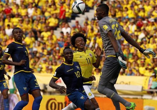 Equador x Colômbia