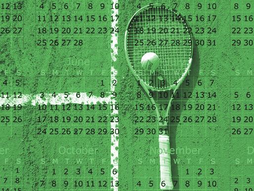 Entendendo o Funcionamento do Calendário do Tênis.