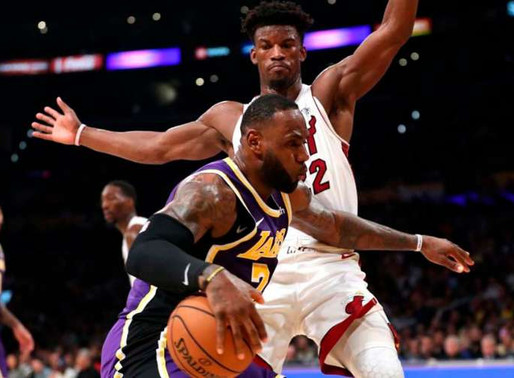 Los Angeles Lakers e Miami Heat
