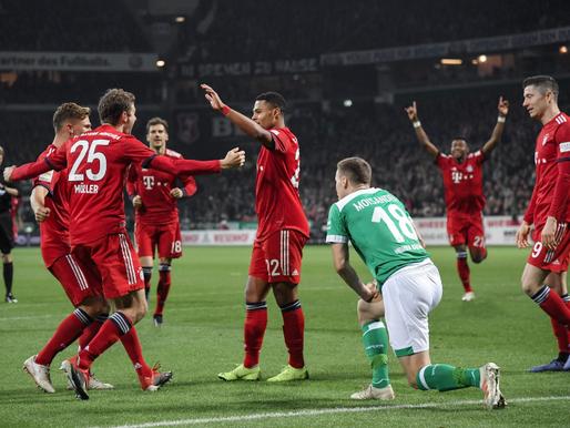 Bayern de Munique x Werder Bremen