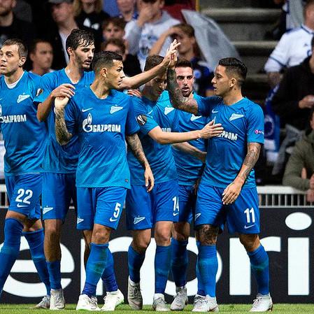 Zenit St. Petersburg x Club Brugge