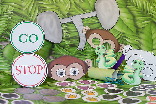 Riot in the Rainforest Kit with Storyboard
