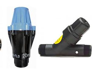 Reguladores de presión en equipos de riego