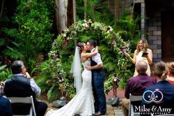 Circle Wedding Arbour Flowers