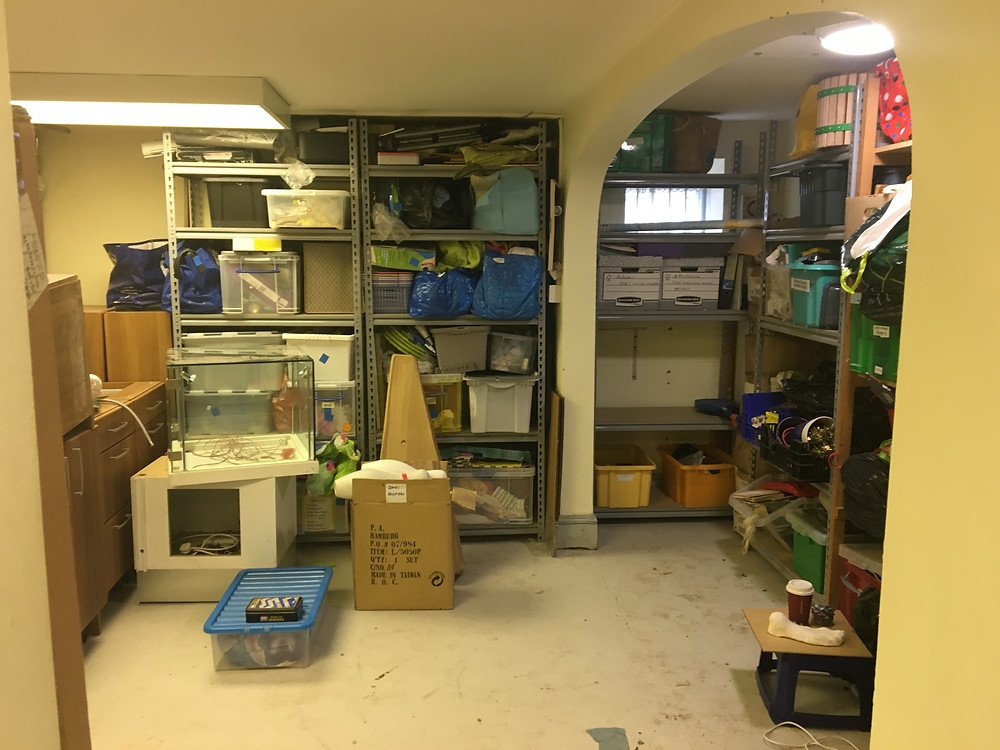 As you can see there was a fair bit ofsortingand clearing required before wecan begin on the actual renovation work.