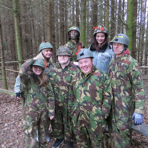 A fun filled half term for the Skills Bridge Interns!