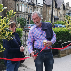 The official opening of the Briardene memory garden.