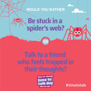 Time to Talk this February!