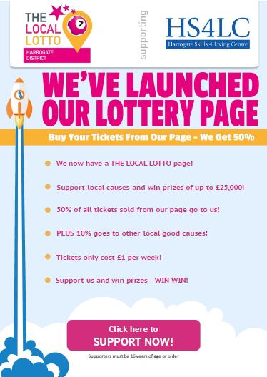Health Lottery Odds >> Harrogates Local Lotto
