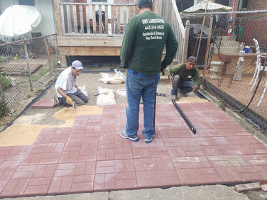 Paver Patio in Pig Town