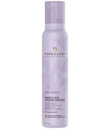 Pureology Style + Protect Weightless Volume Mousse