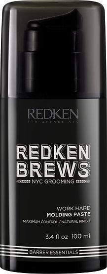 Redken Brews Molding Paste Work Hard