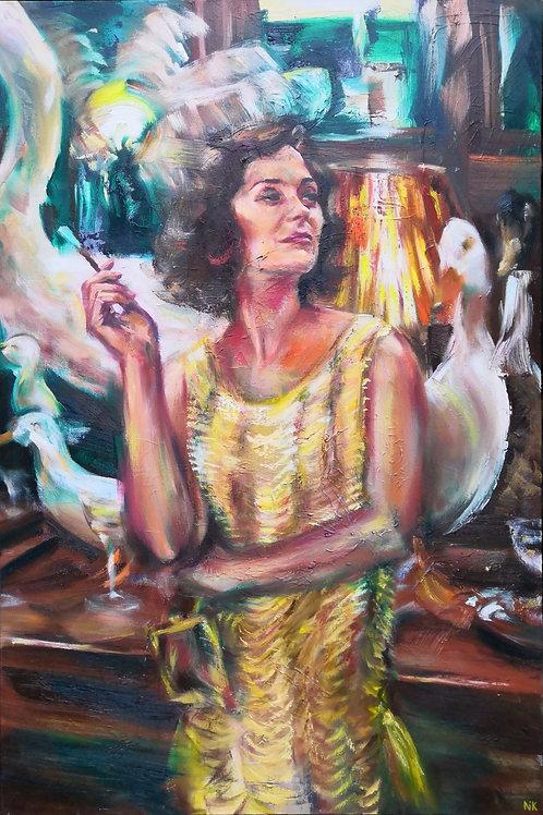 'Les Années Folles' Original Painting