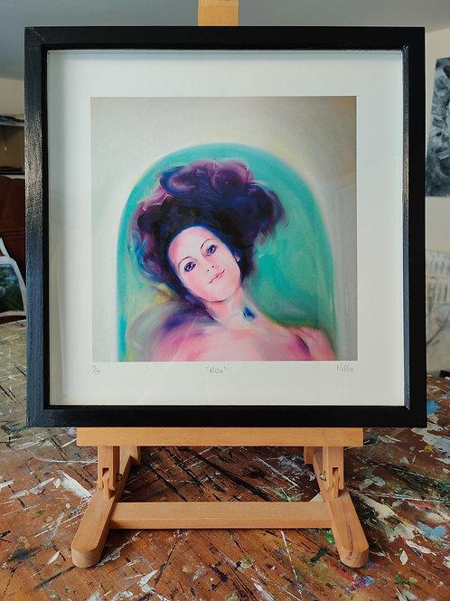 'Rita' Framed, limited edition print