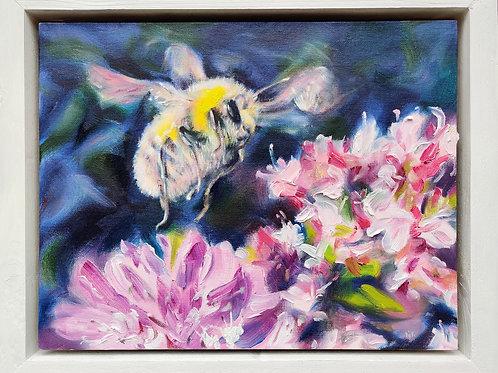 'Bee home soon..' Original Oil Painting
