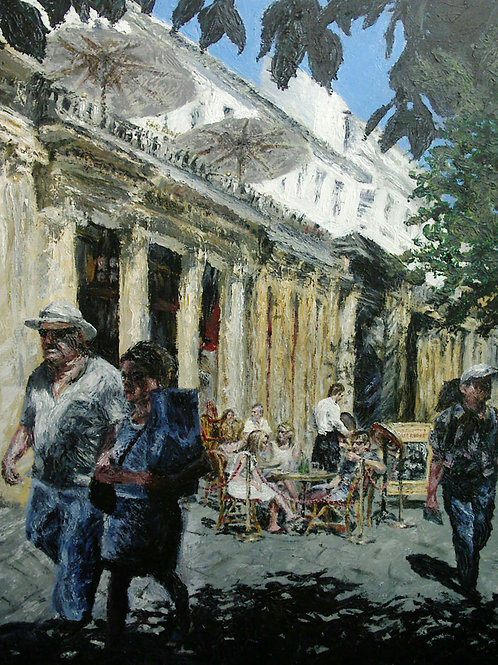 'Promenading' Original Painting