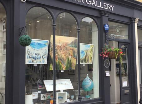 New Summer Oil Paintings at Park Gallery, Montpellier, Cheltenham