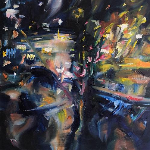 'Broken Light' Original Oil painting