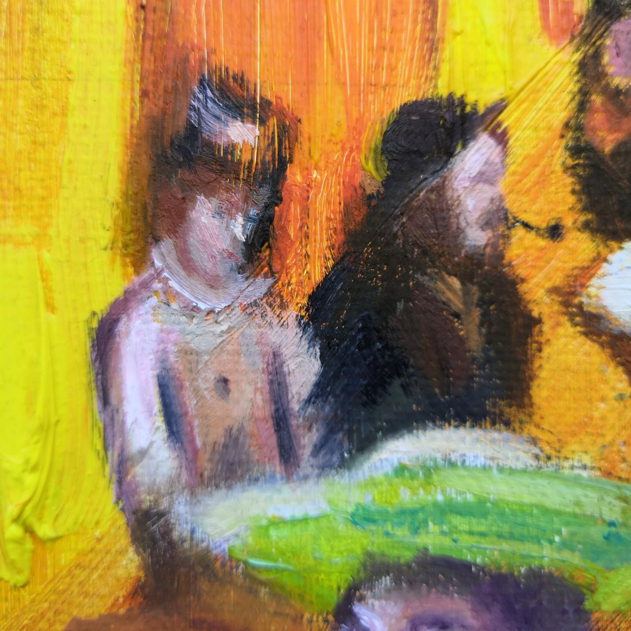 Absinthe Drinkers_Degas_Nick Pike Art