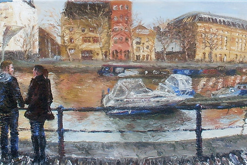 St. Augustine's Reach' Original Painting