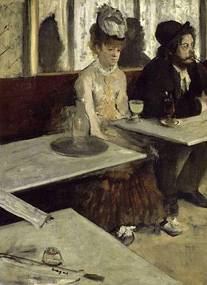 Absinthe Drinker_Degas