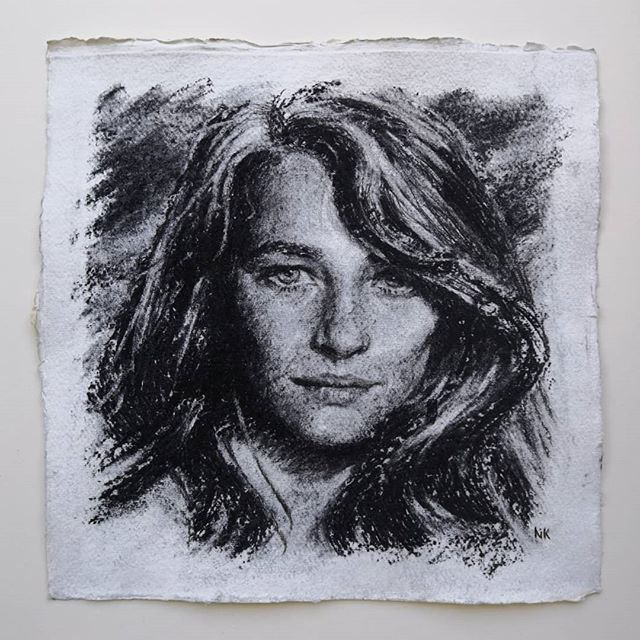 _New_ 'Charlotte Rampling '_Charcoal Por