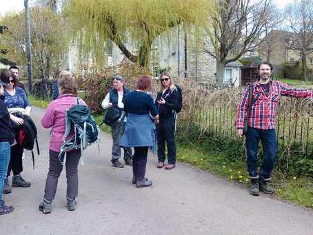 'Stream of Consciousness' Painswick Mindfulness walk