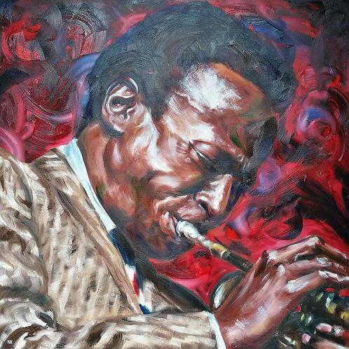 'Miles' Original Painting