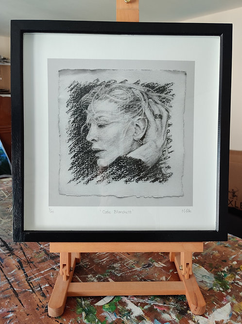 'Cate Blanchett' Framed, limited edition print