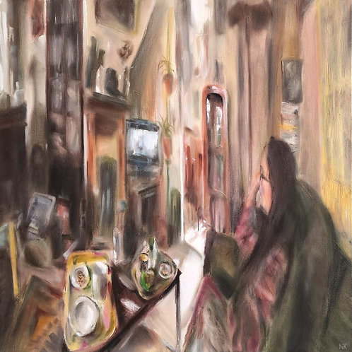 'Part of the Furniture' Original Painting