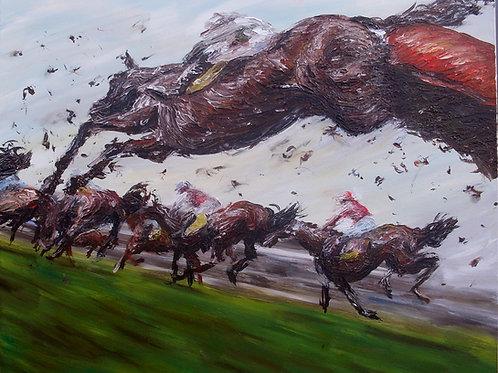 'Final Jump' Original Painting