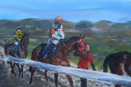 'Gearing Up' Original Painting