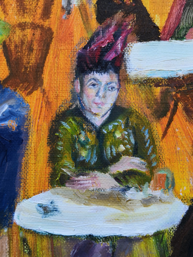 Agostina Segatori_Van Gogh_Nick Pike Art