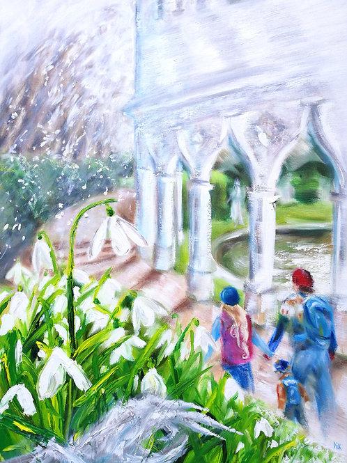 'Exedra's Spell' Original Painting