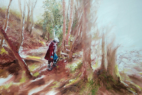 'Into the Light' Original Painting
