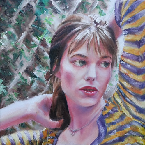 'Jane B' Original Painting