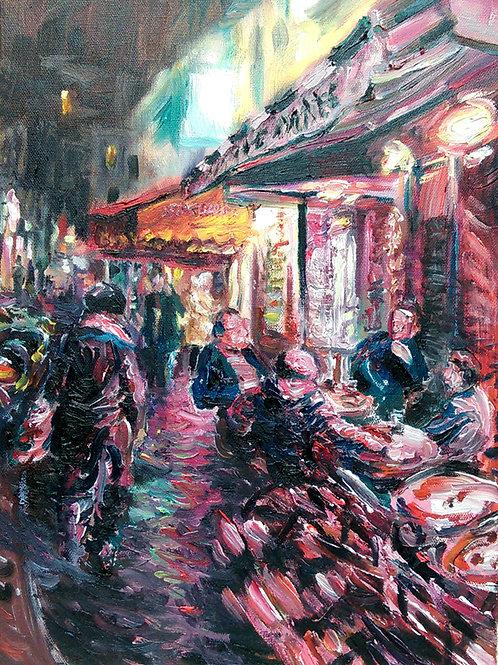 'Artists Corner' Original Painting
