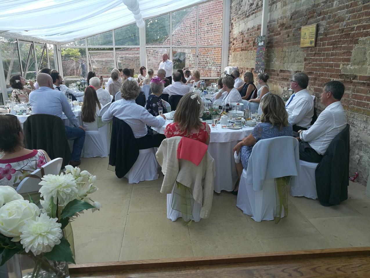 Painswick Rococo Garden Orangery wedding