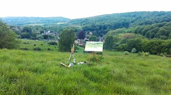 Cranham mindfulness painting