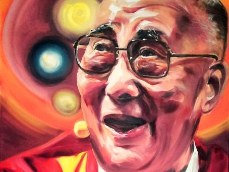 ⭐New⭐ 'Dalai Lama'Portrait
