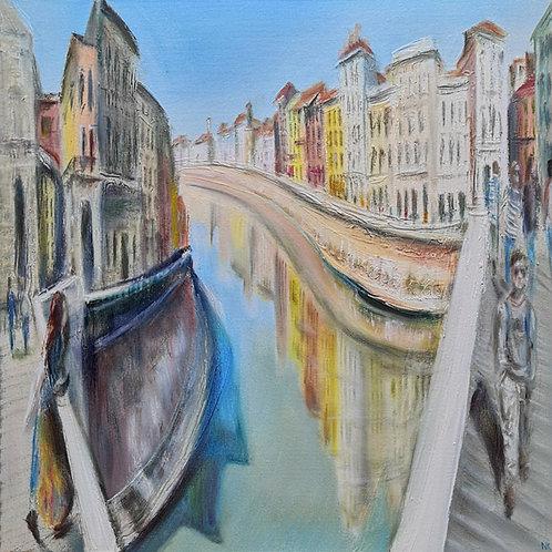'Ponte Solferino' Original Painting