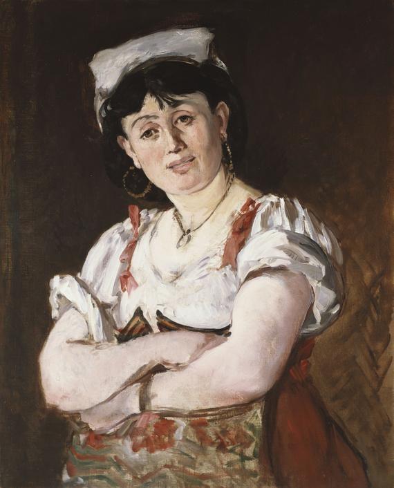 The Italian Edouard Manet