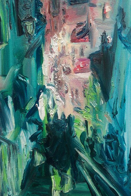 'Slipping into the Night' Original Painting
