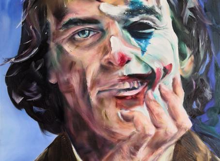 Joker Art Portrait Blog by Nick Pike