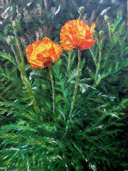 'Noon Glow' Original Painting