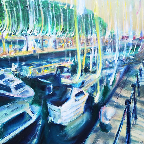 'Floating Harbour, Bristol' Original Painting